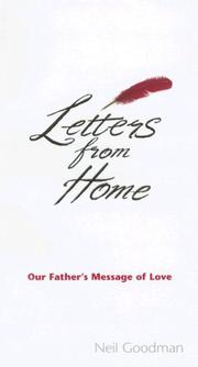 Cover of: Letters from Home | Neil Goodman