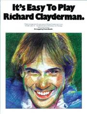 Cover of: It's Easy to Play Richard Clayderman (It's Easy to Play)