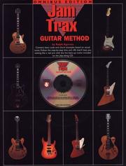 Cover of: Jam Trax Guitar Method | Ralph Agresta