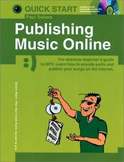 Cover of: Publishing music online | Paul Sellars