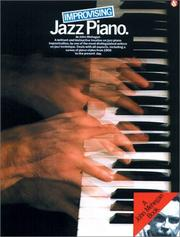 Cover of: Improvising Jazz Piano | John Mehegan