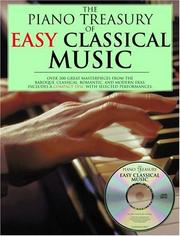 Cover of: Piano Treasury Of Easy Classical Music |
