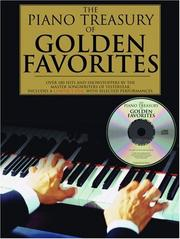 Cover of: Piano Treasury Of Golden Favorites |