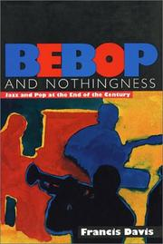 Cover of: Bebop & Nothingness