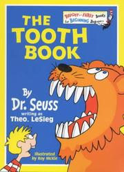Cover of: The tooth book | Dr. Seuss