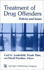 Cover of: Treatment of Drug Offenders |
