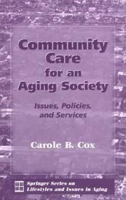 Cover of: Community Care For An Aging Society