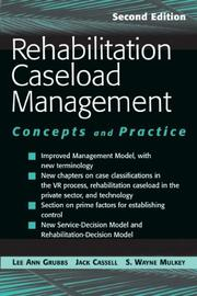 Cover of: Rehabilitation caseload management | Lee Ann R. Grubbs