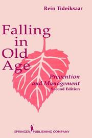 Cover of: Falling in old age