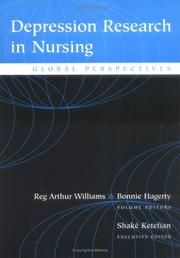 Cover of: Depression Research In Nursing |