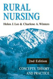 Cover of: Rural nursing