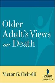 Cover of: Older Adults Views on Death