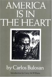 Cover of: America is in the heart