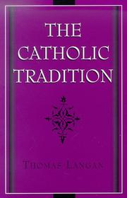 Cover of: The Catholic tradition