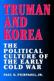 Cover of: Truman and Korea