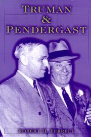 Cover of: Truman and Pendergast