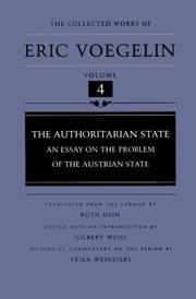 Cover of: The authoritarian state