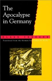 Cover of: The apocalypse in Germany