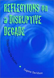 Cover of: Reflections on a disruptive decade