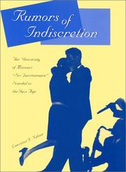 Rumors of Indiscretion by Lawrence J. Nelson