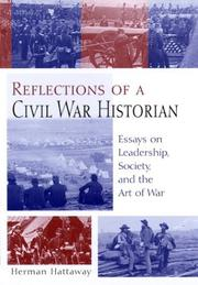 Cover of: Reflections of a Civil War historian