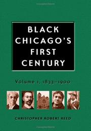 Cover of: Black Chicago's first century