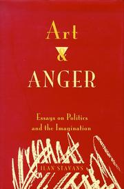 Cover of: Art and anger | Ilan Stavans