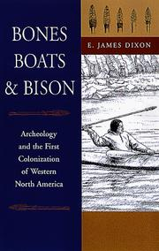Cover of: Bones, Boats, and Bison