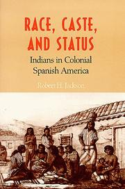Cover of: Race, caste, and status