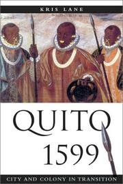 Cover of: Quito 1599