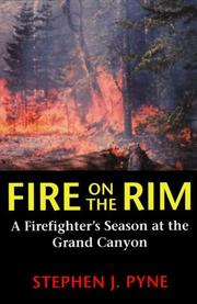 Fire on the rim by Stephen J. Pyne
