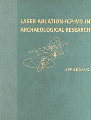 Cover of: Laser ablation ICP-MS in archaeological research |