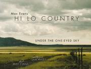 Cover of: Max Evans' Hi Lo Country