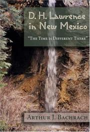 Cover of: D. H. Lawrence in New Mexico
