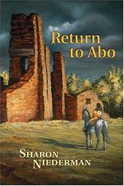 Cover of: Return to Abo | Sharon Niederman