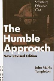 Cover of: The humble approach