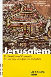 Cover of: Jerusalem |