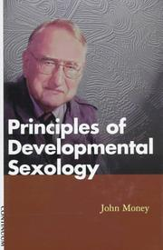 Cover of: Principles of developmental sexology