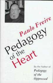 Cover of: Pedagogy of the heart