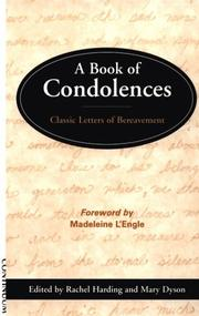 Cover of: A Book of Condolences |