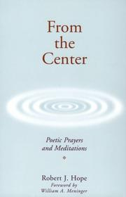 Cover of: From the Center | Robert J. Hope