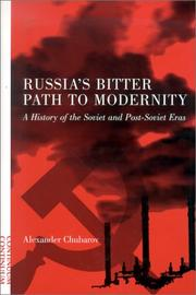 Cover of: Russia's bitter path to modernity