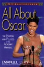 Cover of: All About Oscar