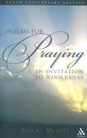 Cover of: Psalms for Praying | Nan C. Merrill