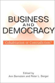Cover of: Business and Democracy