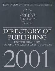 Cover of: Directory of Publishing 2001 | Continuum