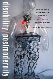 Cover of: Disability/Postmodernity |