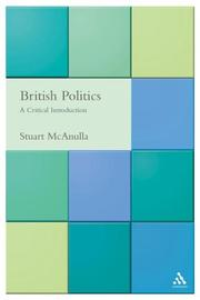 Cover of: British Politics | Stuart McAnulla