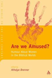 Cover of: Are we amused? by