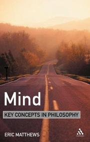 Cover of: Mind